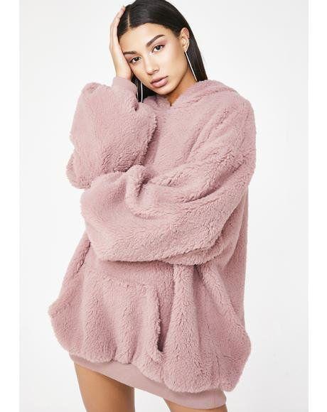 áo khoác lông cừu sexy