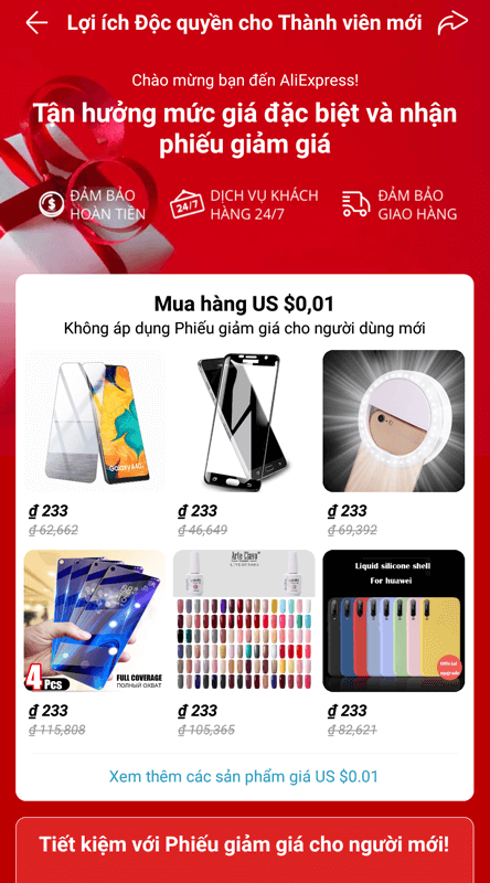 mua hang aliexpress